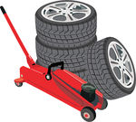 タイヤの交換・組み替えも当店にお任せください!
